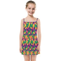 Artwork By Patrick Colorful 44 Kids Summer Sun Dress by ArtworkByPatrick