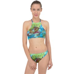 June Gloom 12 Racer Front Bikini Set