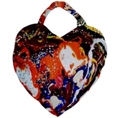 Smashed Butterfly 8 Giant Heart Shaped Tote by bestdesignintheworld