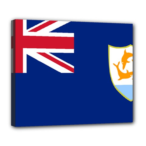 Flag Of Anguilla Deluxe Canvas 24  X 20   by abbeyz71
