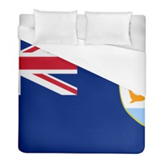 Flag Of Anguilla Duvet Cover (full/ Double Size) by abbeyz71