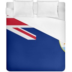 Flag Of Anguilla Duvet Cover (california King Size) by abbeyz71
