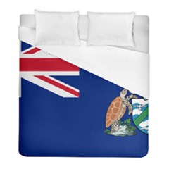 Flag Of Ascension Island Duvet Cover (full/ Double Size) by abbeyz71