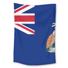 Flag Of Ascension Island Large Tapestry