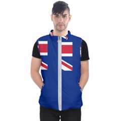 Flag Of Ascension Island Men s Puffer Vest