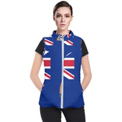 Flag Of Ascension Island Women s Puffer Vest