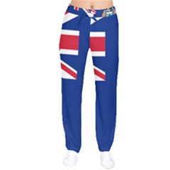 Flag Of Ascension Island Velvet Drawstring Pants