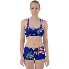 Flag Of Ascension Island Women s Sports Set