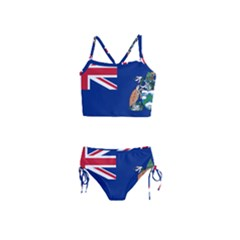 Flag Of Ascension Island Girls  Tankini Swimsuit