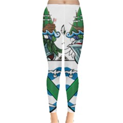 Flag Of Ascension Island Leggings
