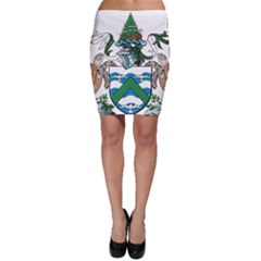 Flag Of Ascension Island Bodycon Skirt