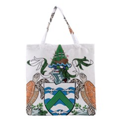 Flag Of Ascension Island Grocery Tote Bag