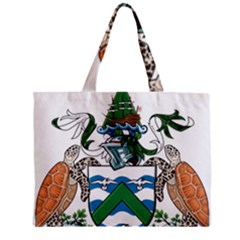 Flag Of Ascension Island Zipper Mini Tote Bag