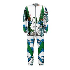 Flag Of Ascension Island Onepiece Jumpsuit (kids)