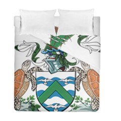 Flag Of Ascension Island Duvet Cover Double Side (full/ Double Size)