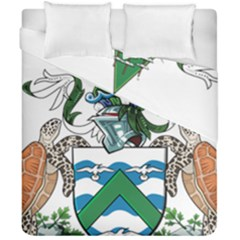 Flag Of Ascension Island Duvet Cover Double Side (california King Size)