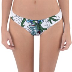 Flag Of Ascension Island Reversible Hipster Bikini Bottoms