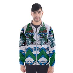 Flag Of Ascension Island Windbreaker (men)
