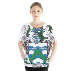 Flag Of Ascension Island Blouse