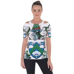 Flag Of Ascension Island Short Sleeve Top