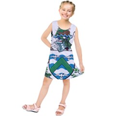 Flag Of Ascension Island Kids  Tunic Dress