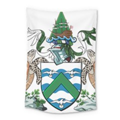 Flag Of Ascension Island Small Tapestry