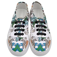 Flag Of Ascension Island Women s Classic Low Top Sneakers