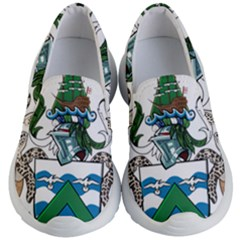Flag Of Ascension Island Kid s Lightweight Slip Ons