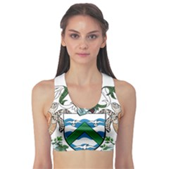 Coat Of Arms Of Ascension Island Sports Bra