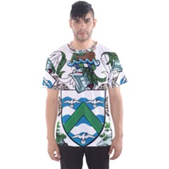 Coat Of Arms Of Ascension Island Men s Sports Mesh Tee