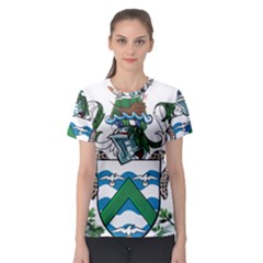 Coat Of Arms Of Ascension Island Women s Sport Mesh Tee