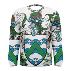 Coat Of Arms Of Ascension Island Men s Long Sleeve Tee