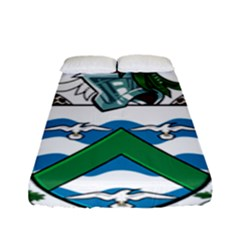 Coat Of Arms Of Ascension Island Fitted Sheet (full/ Double Size) by abbeyz71