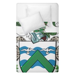 Coat Of Arms Of Ascension Island Duvet Cover Double Side (single Size) by abbeyz71