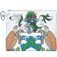 Coat Of Arms Of Ascension Island Canvas Cosmetic Bag (xxxl) by abbeyz71