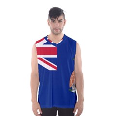 Flag Of Ascension Island Men s Basketball Tank Top