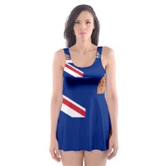 Flag Of Ascension Island Skater Dress Swimsuit by abbeyz71
