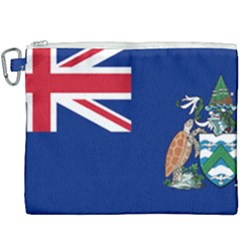 Flag Of Ascension Island Canvas Cosmetic Bag (xxxl) by abbeyz71