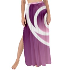 Rose  Maxi Chiffon Tie Up Sarong
