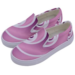 Rose  Kids  Canvas Slip Ons by Jylart