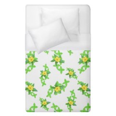 Airy Floral Pattern Duvet Cover (single Size) by dflcprints