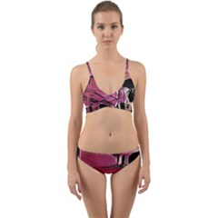 Foundation Of Grammer 2 Wrap Around Bikini Set by bestdesignintheworld