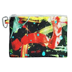 Enigma 2 Canvas Cosmetic Bag (xl) by bestdesignintheworld