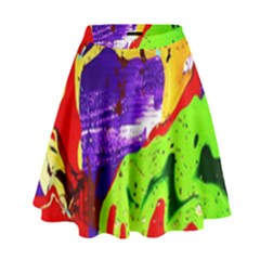 Untitled Island 2 High Waist Skirt by bestdesignintheworld