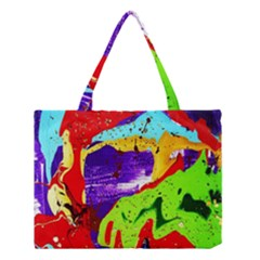 Untitled Island 2 Medium Tote Bag by bestdesignintheworld