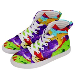 Untitled Island 2 Men s Hi Top Skate Sneakers by bestdesignintheworld