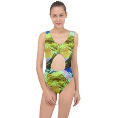 June Gloom 9 Center Cut Out Swimsuit