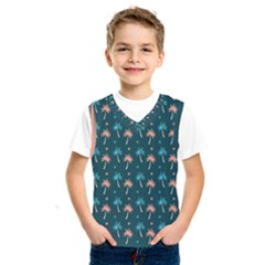 Summer Palms Pattern Kids  Sportswear by TastefulDesigns