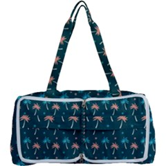 Summer Palms Pattern Multi Function Bag