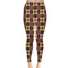 Artwork By Patrick Colorful 45 1 Leggings  by ArtworkByPatrick